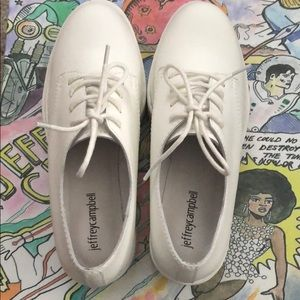 Jeffrey Campbell Shoes - White Jeffrey Campbell platforms